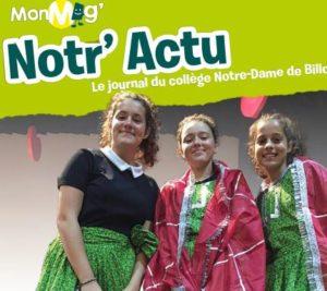 Notr'Actu Présentation Collège 2019
